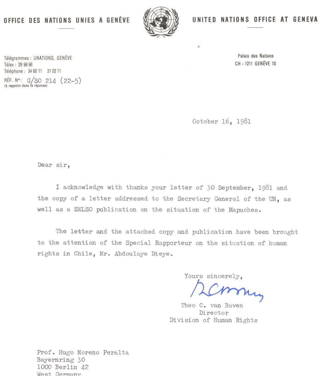 Carta Naciones Unidas