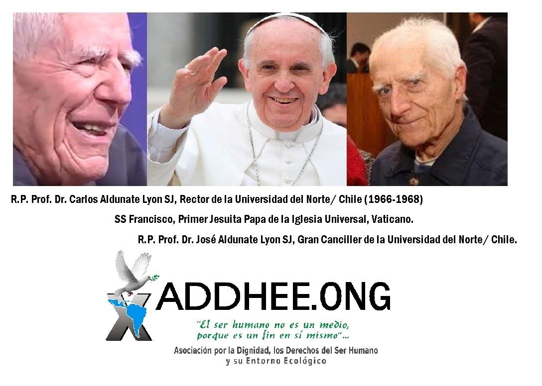Aldunates y Papa Francisco sss