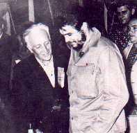 Clotario-Blest-y-el-Che-Guevara-en-1961