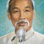 Portrait of Ho Chi Minh