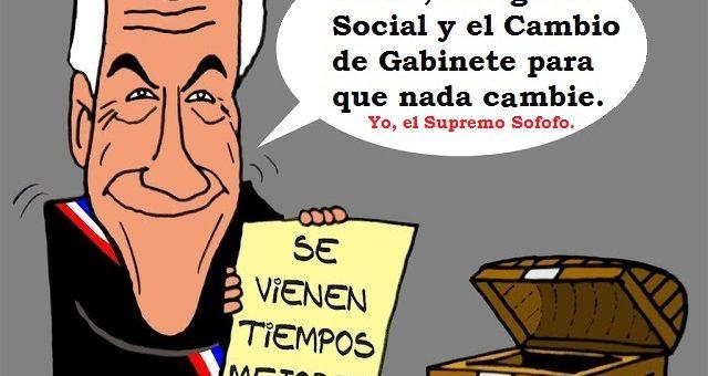 Bienvenida la rebelión: por un Chile nuevo, con una nueva constitución sancionada soberanamente por el Pueblo Chileno.