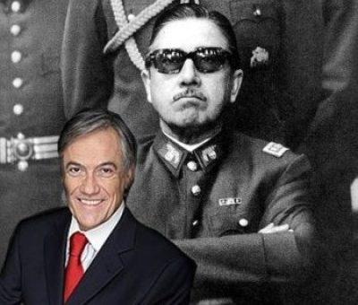 El sátrapa Pinochet se reinstala en La Moneda: ¡Váyase de una vez Señor Piñera!.