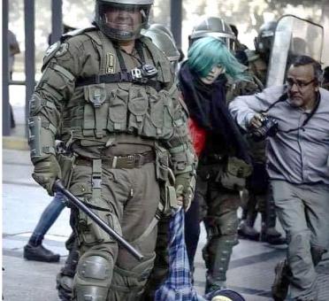 CHILE: POLÍTICA DELIBERADA del gobierno PARA DAÑAR A MANIFESTANTES, APUNTA A RESPONSABILIDAD DE MANDO.