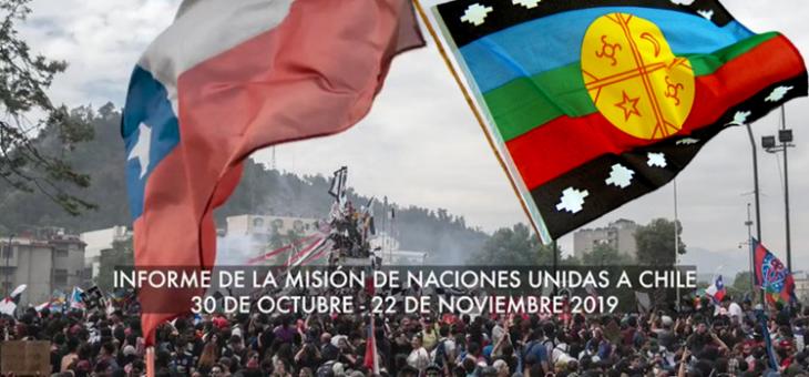 El Chile virtual de Piñera Echeñique, condenado por violaciones a los Derechos Humanos por Naciones Unidas.
