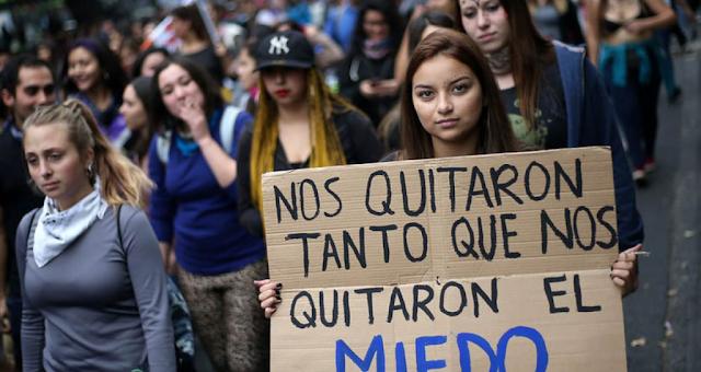 Colombia. ¡Nos Quitaron Hasta El Miedo!.