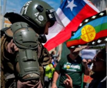 """Chile: """"Hay olor a Revolución en el aire""""."""