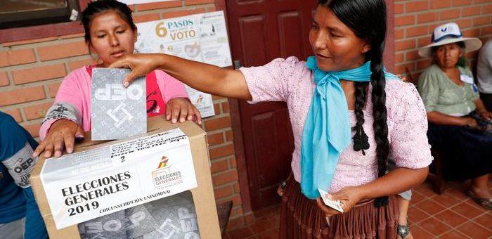 Algunas reflexiones de cara a las elecciones en Bolivia.