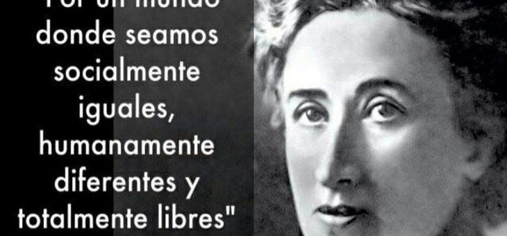 Feminismo/emancipación de la mujer: saludamos y nos solidarizamos con su lucha de liberación del odioso sistema capitalista salvaje: