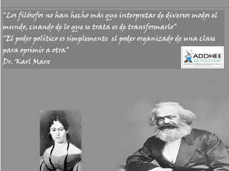 Conferencia en el Natalicio del genio universal Dr. Karl Marx, 5 de Mayo del 2020.