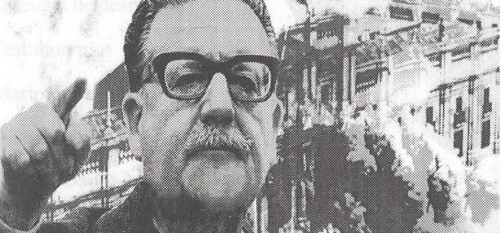 EL MAGNICIDIO DEL PRESIDENTE DE Chile Dr. SALVADOR ALLENDE GOSSENS.