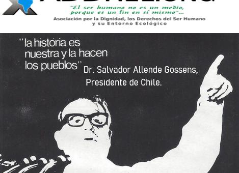 Triunfo del 4 de septiembrede 1970, un triunfo del Pueblo Chileno.