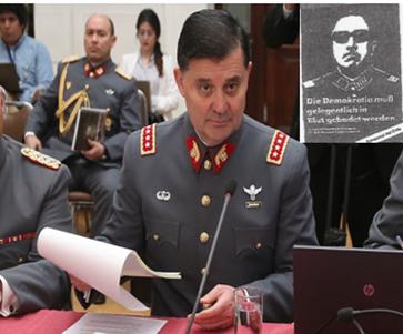 """""""Opiniones políticas del comandante en jefe del Ejército del General Augusto Pinochet Ugarte, General Ricardo Martínez Menanteau"""""""