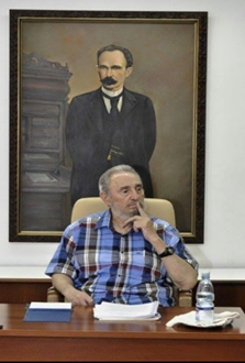 Dr. Fidel Castro Ruz, padre e inspirador del sistema científico cubano.
