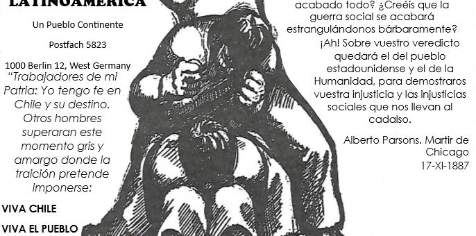 El compañero Presidente Dr. Salvador Allende Gossens, su legado y sus únicos herederos, la clase trabajadora chilena: